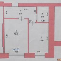 1-к квартира, 34.00 м², 1/4 этаж
