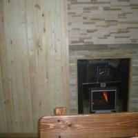 Сдается новая двухэтажная баня на дровах.