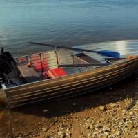 """Моторная лодка """"my boat38"""" Облегченный вариант"""