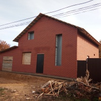 Дом 110 м² (кирпич) на участке 7 сот.