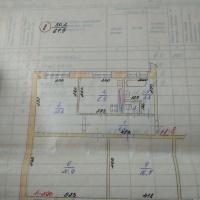 3-к квартира, 68.00 м², 2/2 этаж