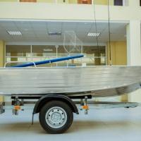 """Алюминиевая моторная лока """"my boat38"""""""