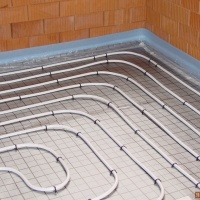 Отопление, климат контроль, водяной тёплый пол