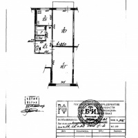 2-к квартира, 50.00 м², 3/5 этаж