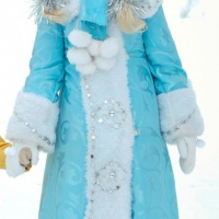 Костюм Снегурочки размер 42-44