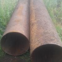 Трубы стальные б/у 530х8 мм, 6 метров