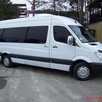 Микроавтобус мерседес (20) и  Форд транзит (18) мест