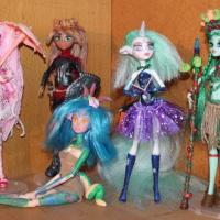 Продам Ooak Кукла Монстер Хай Monster High Barbie