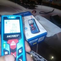 Лазерный дальномер рулетка HCJYET HT-310 до 40 метров