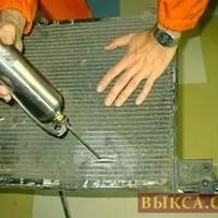 Ремонт медных радиаторов