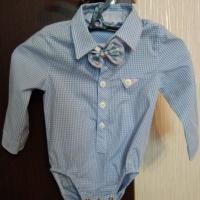 Продам рубашку-боди на малыша