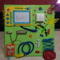 Детские игрушки Бизиборд