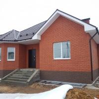 Дом 105 м² (кирпич) на участке 10 сот.