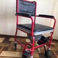 Кресло каталка с санитарным оснащением