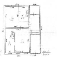 Дом 45 м² (бревно) на участке 12 сот.