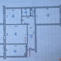 3-к квартира, 68.00 м², 4/9 этаж
