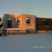Дом 100 м² (пеноблоки) на участке 15 сот.