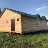 Дом 100 м² (брус) на участке 14 сот.