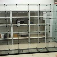 Продам витрину - стеклянные кубы