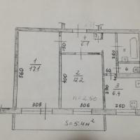 2-к квартира, 48 м², 4/5 этаж